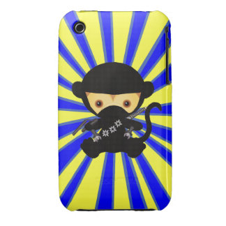 Kawaii Ninja Monkey iPhone 3 Cover