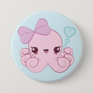 Kawaii Octopus Button