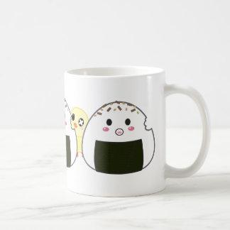 "Kawaii ""Onigiri"" Rice Balls Coffee Mug"