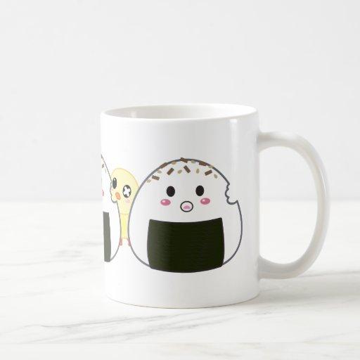 "Kawaii ""Onigiri"" Rice Balls Mug"