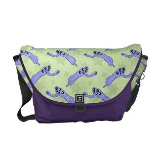 Kawaii Opabinia Messenger Bags