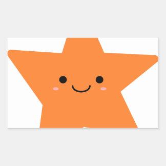Kawaii Orange Star