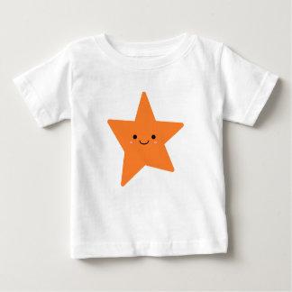 Kawaii Orange Star Baby T-Shirt