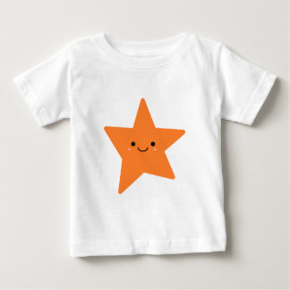 Kawaii Orange Star Baby T-Shirt