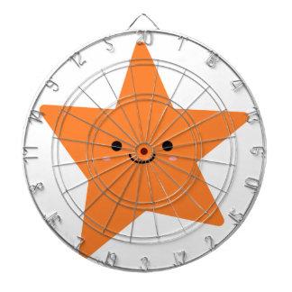 Kawaii Orange Star Dartboard