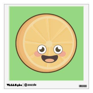 Kawaii Orange Wall Sticker