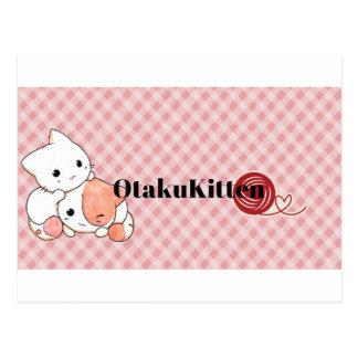 Kawaii OtakuKitten Mixx Postcard