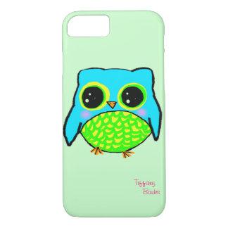Kawaii Owl with name iPhone 7 Case