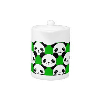 Kawaii Panda Bear Pattern