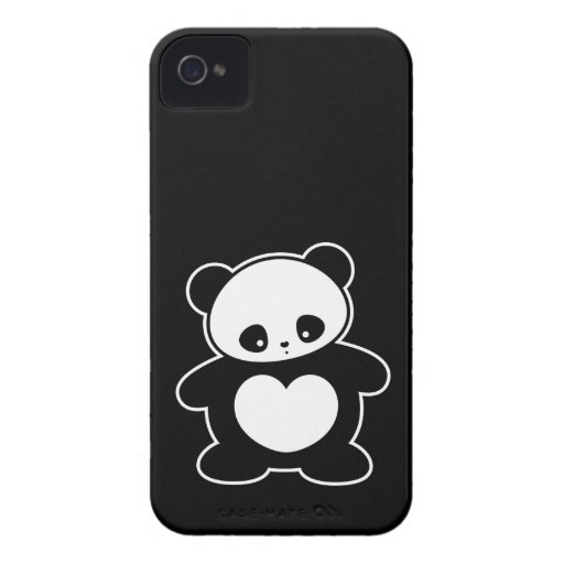 Kawaii panda blackberry bold case
