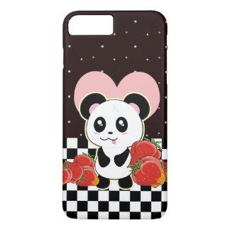 Kawaii Panda cute iPhone 8 Plus/7 Plus Case