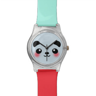 Kawaii Panda Face Watches