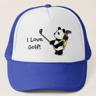 Kawaii Panda Golfer Trucker Hat