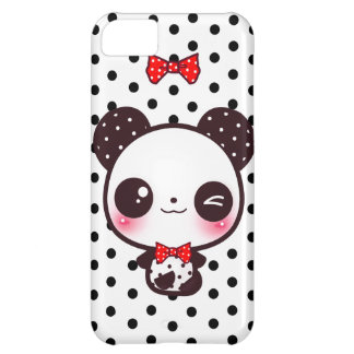 Kawaii Panda iPhone 5C Cases