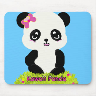 Kawaii Panda Mousepad