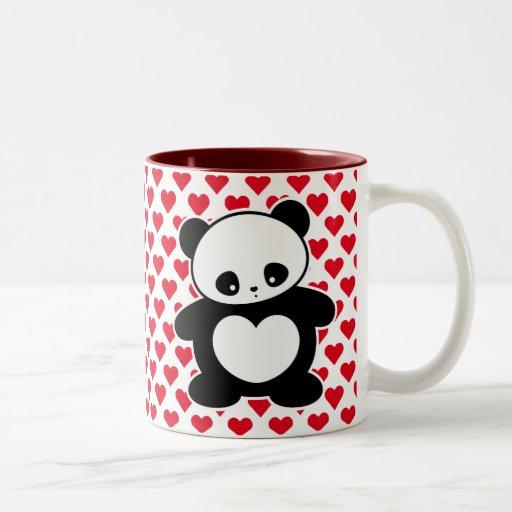 Kawaii panda mug