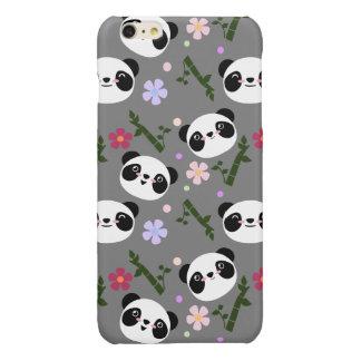 Kawaii Panda on Gray