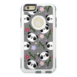 Kawaii Panda on Gray OtterBox iPhone 6/6s Plus Case