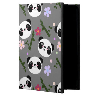 Kawaii Panda on Gray Powis iPad Air 2 Case