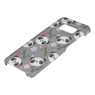Kawaii Panda on Gray Uncommon Samsung Galaxy S8 Case