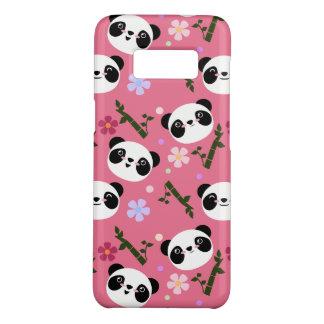 Kawaii Panda on Pink Case-Mate Samsung Galaxy S8 Case