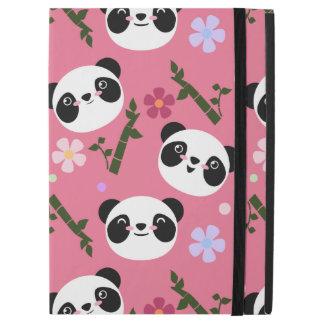 "Kawaii Panda on Pink iPad Pro 12.9"" Case"