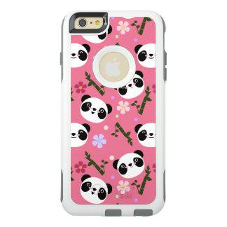 Kawaii Panda on Pink OtterBox iPhone 6/6s Plus Case