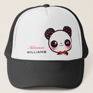Kawaii Panda - Personalized Trucker Hat