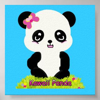 Kawaii Panda Print