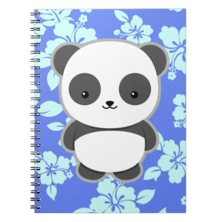 Kawaii Panda Spiral Note Books