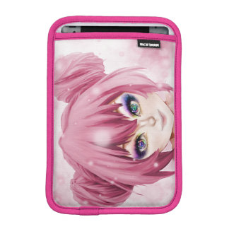 Kawaii Pastel Girl iPad Mini Sleeve