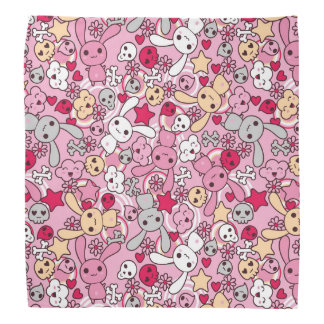 Kawaii pattern bandana