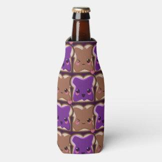 Kawaii Peanut Butter and Jelly Friends Bottle Cooler