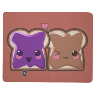 Kawaii Peanut Butter and Jelly Friends Journal