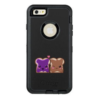 Kawaii Peanut Butter and Jelly Friends OtterBox Defender iPhone Case