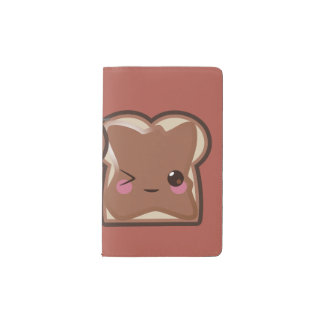 Kawaii Peanut Butter and Jelly Friends Pocket Moleskine Notebook