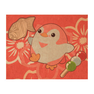 Kawaii Penguins Cork Paper