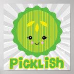 kawaii picklish pickle slice