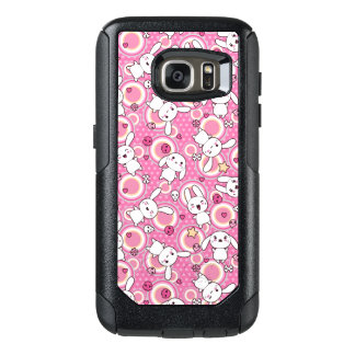 kawaii pink pattern OtterBox samsung galaxy s7 case