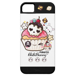 Kawaii pirate skull cupcake iPhone 5 cover
