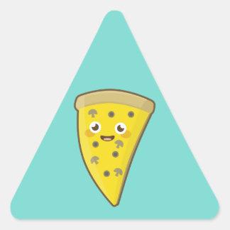 Kawaii Pizza Triangle Sticker