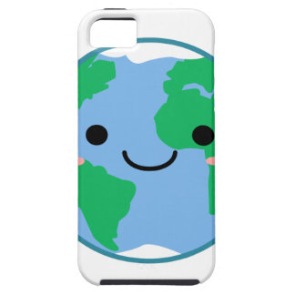 Kawaii Planet Earth iPhone 5 Cover