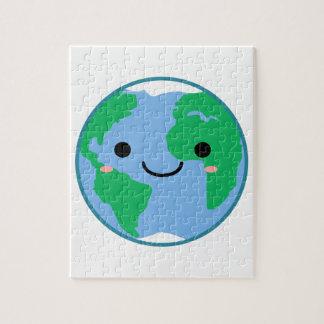 Kawaii Planet Earth Puzzles