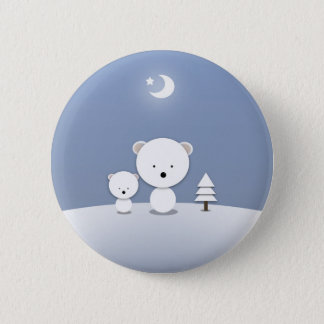 Kawaii Polar Bears Holiday Pin Cute!
