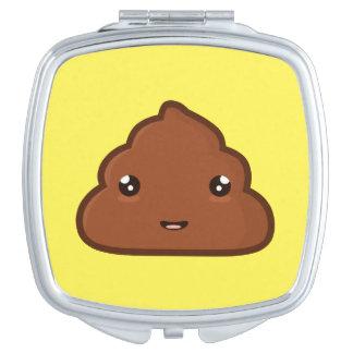 Kawaii Poo Mirror For Makeup