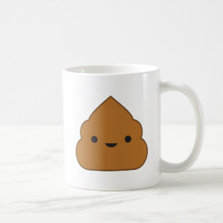 Kawaii Poop Coffee Mug