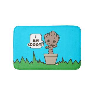 Kawaii Potted Groot Bath Mat