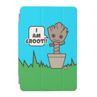 Kawaii Potted Groot iPad Mini Cover