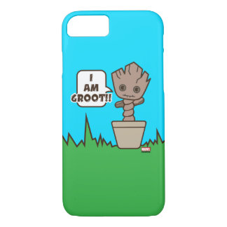 Kawaii Potted Groot iPhone 8/7 Case