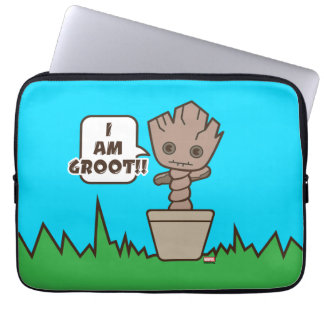 Kawaii Potted Groot Laptop Sleeve